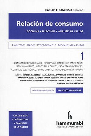 RELACION DE CONSUMO VOL. 1