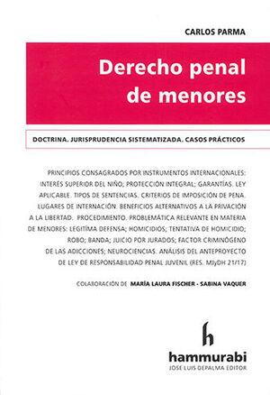 DERECHO PENAL DE MENORES