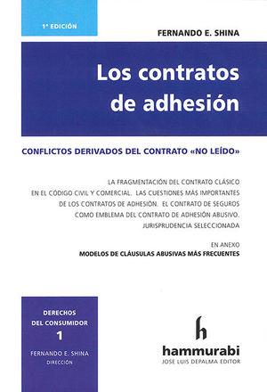 CONTRATOS DE ADHESIÓN, LOS