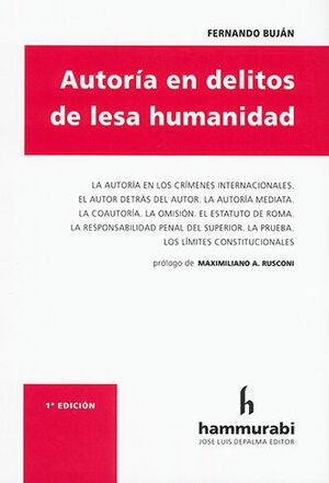 AUTORÍA EN DELITOS DE LESA HUMANIDAD