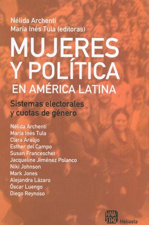 MUJERES Y POLÍTICA EN AMÉRICA LATINA