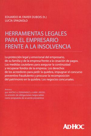 HERRAMIENTAS LEGALES PARA EL EMPRESARIO FRENTE A LA INSOLVENCIA