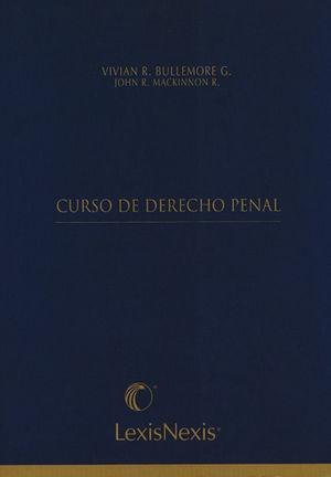 CURSO DE DERECHO PENAL ( LEXIS NEXIS ) 3 TOMOS