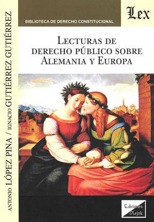 LECTURAS DE DERECHO PÚBLICO SOBRE ALEMANIA Y EUROPA