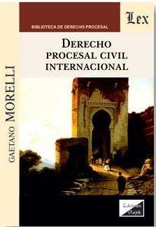 DERECHO PROCESAL CIVIL INTERNACIONAL