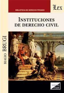 INSTITUCIONES DE DERECHO CIVIL (OLEJNIK)