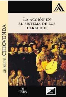 ACCIÓN EN EL SISTEMA DE LOS DERECHOS, LA