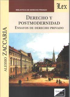 DERECHO Y POSTMODERNIDAD 2018