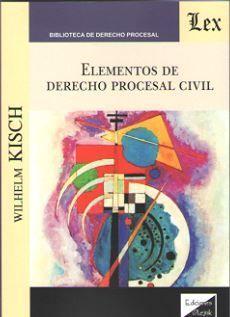 ELEMENTOS DE DERECHO PROCESAL CIVIL