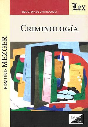 CRIMINOLOGÍA (MEZGER)