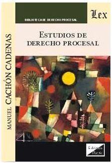 ESTUDIOS DE DERECHO PROCESAL (2018)