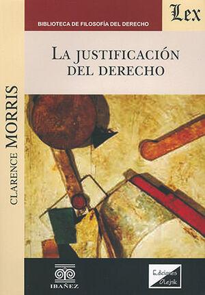 JUSTIFICACIÓN DEL DERECHO, LA