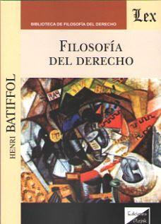 FILOSOFIA DEL DERECHO (BATIFFOL)