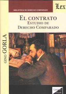 CONTRATO, EL. ESTUDIO DE DERECHO COMPARADO