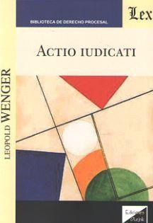 ACTIO IUDICATI