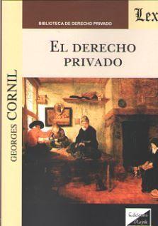 DERECHO PRIVADO, EL