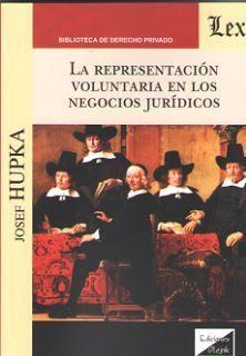 REPRESENTACION VOLUNTARIA EN LOS NEGOCIOS JURIDICOS, LA