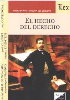 HECHO DEL DERECHO, EL
