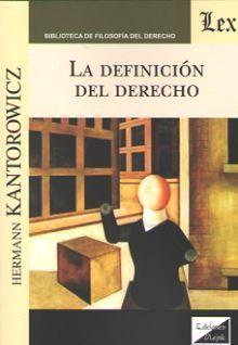 DEFINICIÓN DEL DERECHO, LA