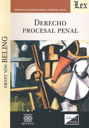 DERECHO PROCESAL PENAL (ED. OLEJNIK)