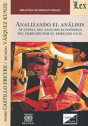 ANALIZANDO EL ANÁLISIS
