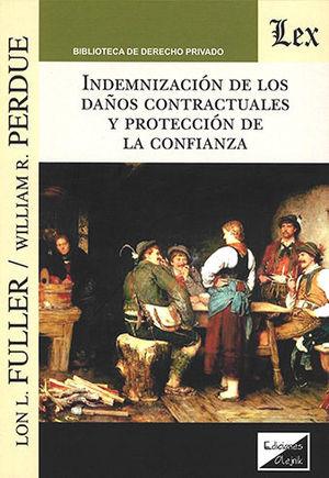 INDEMNIZACION DE LOS DAÑOS CONTRACTUALES Y PROTECCION DE LA CONFIANZA