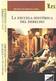 ESCUELA HISTORICA DEL DERECHO, LA