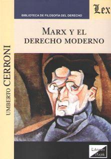 MARX Y EL DERECHO MODERNO