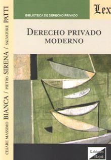 DERECHO PRIVADO MODERNO (2018)