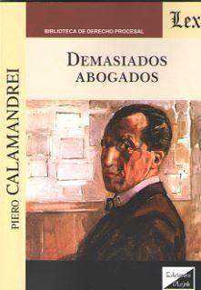 DEMASIADOS ABOGADOS