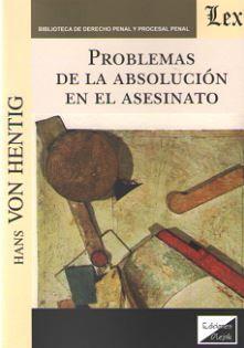 PROBLEMAS DE LA ABSOLUCIÓN EN EL ASESINATO