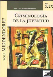 CRIMINOLOGÍA DE LA JUVENTUD