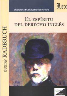 ESPÍRITU DEL DERECHO INGLÉS, EL