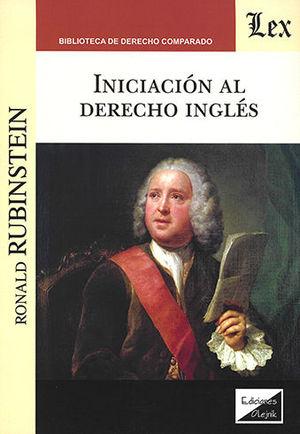 INICIACIÓN AL DERECHO INGLES