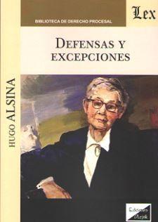 DEFENSAS Y EXCEPCIONES