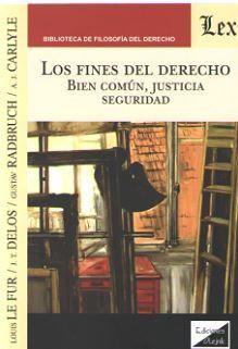 FINES DEL DERECHO, LOS