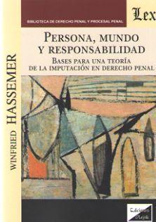 PERSONA, MUNDO Y RESPONSABILIDAD