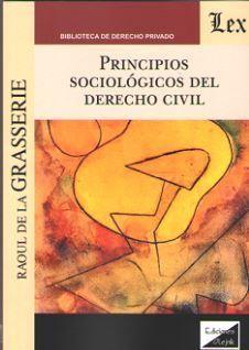 PRINCIPIOS SOCIOLOGICOS DEL DERECHO CIVIL