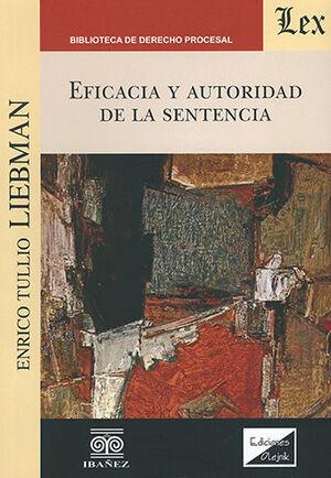 EFICACIA Y AUTORIDAD DE LA SENTENCIA