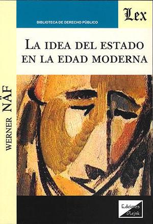 IDEA DEL ESTADO EN LA EDAD MODERNA, LA