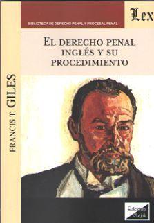 DERECHO PENAL INGLÉS Y SU PROCEDIMIENTO, EL