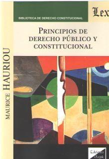 PRINCIPIOS DE DERECHO PUBLICO Y CONSTITUCIONAL