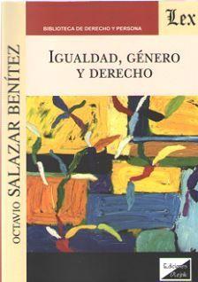 IGUALDAD, GÉNERO Y DERECHO