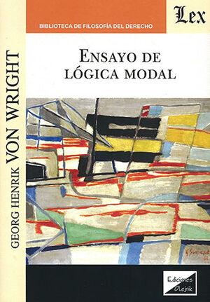 ENSAYO DE LÓGICA MODAL