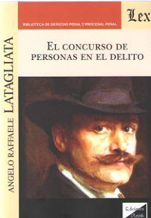 CONCURSO DE PERSONAS EN EL DELITO, EL