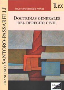DOCTRINAS GENERALES DEL DERECHO CIVIL
