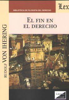 FIN EN EL DERECHO, EL