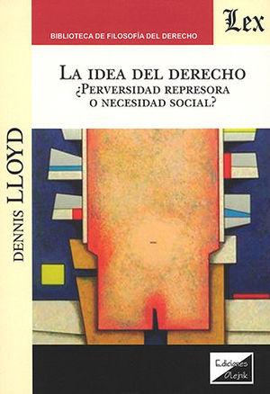 IDEA DEL DERECHO, LA