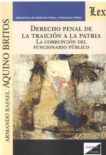 DERECHO PENAL DE LA TRAICIÓN A LA PATRIA