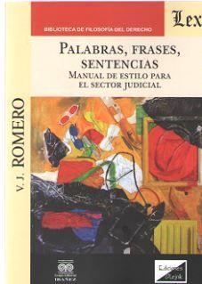 PALABRAS, FRASES, SENTENCIAS